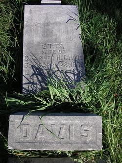 Etta <i>Mitchell</i> Davis