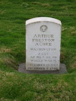 Arthur Preston Achre