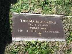 Thelma M Alukonis