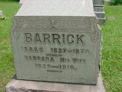 Isaac Barrick