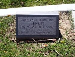 Anne Marie Madeleine Benoit