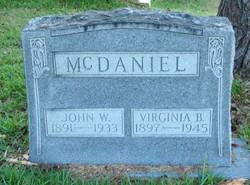 Virginia B. McDaniel