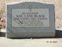 Kay Lane <i>Lane</i> Black