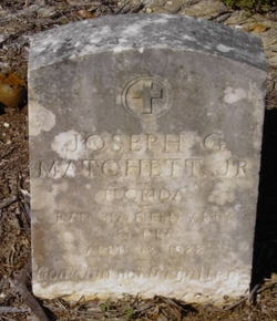 Joseph G Matchett, Jr