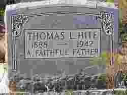 Thomas L Hite