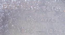 Elizabeth <i>Sutcliffe</i> Ashworth