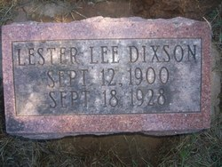 Lester Lee Dixson