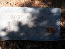 Jannet V <i>Hay</i> Currie