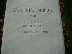 Jane Carl <i>New</i> Dorsey