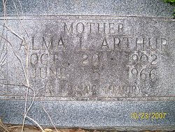 Alma Louise <i>Klander</i> Arthur