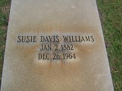 Susie <i>Davis</i> Williams