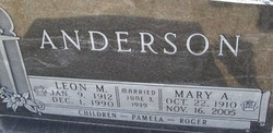 Mary A Anderson