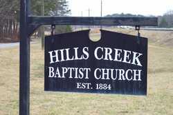 Hills Creek Baptist Church Cemetery