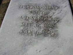 Eugenia Lenora <i>Sharp</i> Sanders