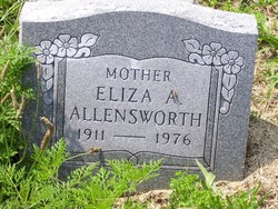 Eliza A Allensworth