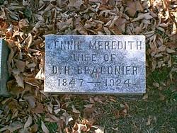 Virginia F Jennie <i>Meredith</i> Bragonier