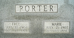 Marie <i>Coffey</i> Porter