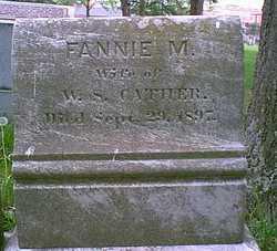 Frances M. <i>Muse</i> Cather