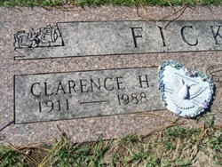 Clarence Claus Henry Ficken, Sr