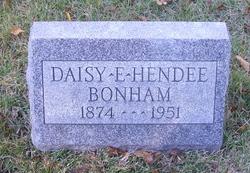 Daisy E <i>Hendee</i> Bonham