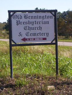 Old Bennington Presbyterian Church Cemetery