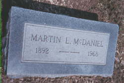 Martin Luther McDaniel