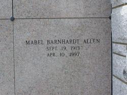 Mabel <i>Barnhardt</i> Allen