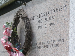 Mattie Lois <i>Laird</i> Myers