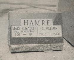 Mary Elizabeth Beth <i>Jenkinson</i> Hamre