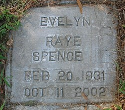 Evelyn Raye <i>Fisher</i> Spence