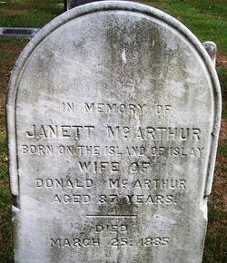 Janett McArthur