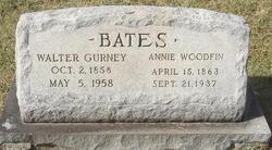 Annie <i>Woodfin</i> Bates