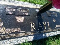 Bessie Francis <i>Wehmeyer</i> Rayl
