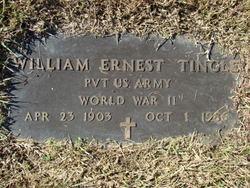 William Earnest (Ernie) Tingle