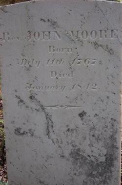Rev John Moore