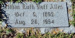 Lillian Ruth <i>Hoff</i> Allen
