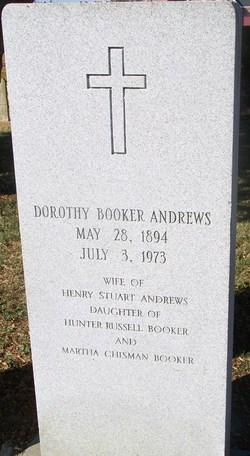 Dorothy Whiting <i>Booker</i> Andrews