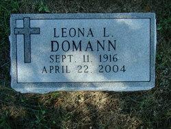 Leona L. <i>Grant</i> Domann