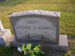 Luther N Adkins
