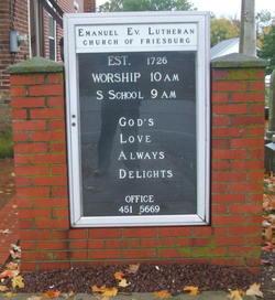 Emanuel Evangelical Lutheran Church of Friesburg