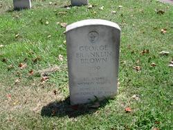Sgt George Franklin Brown