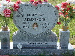 Becky Fay <i>Easley</i> Armstrong
