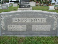 Sarah Elizabeth <i>Dodson</i> Armstrong