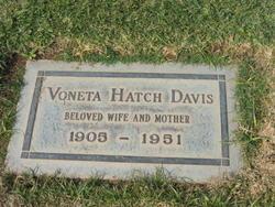 Voneta <i>Hatch</i> Davis