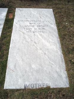Bertha Helena <i>Vogel</i> Brown