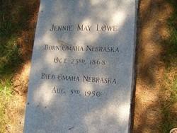 Jennie May <i>Patrick</i> Lowe