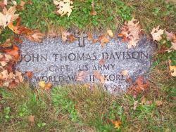 Capt John Thomas Davison