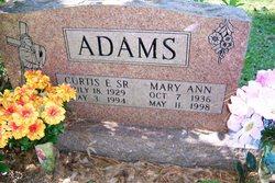Curtis Eugene Adams, Sr