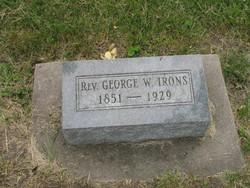Rev George W Irons