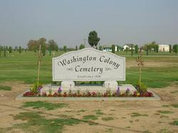 Washington Colony Cemetery